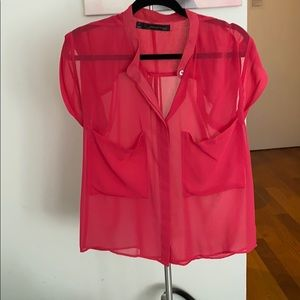 Patterson J Kincaid Pink Top